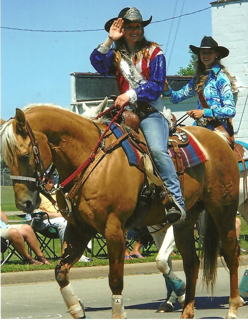 Brooke Manawa Rodeo Queen